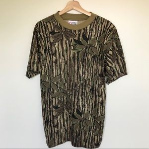Vintage REAL TREE Single Stitch Shirt Medium